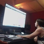 Mixing an album by Ethan Terry at Studio Gazelle