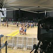 Provided camera operators for Free Press Summer Fest
