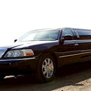 Picture car classic Lincoln stretch limousine