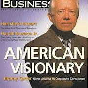 Rhonda styled Jimmy Carter for this publication