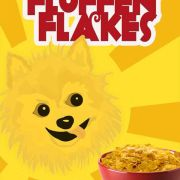 Fluffen Flakes- Replacement Graphic for an Indie Film