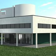 3D - Architecture (Villa Savoye)