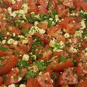 Tossed Tomato and Feta Salad