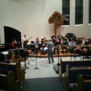 House audio for CLU Jazz Ensemble