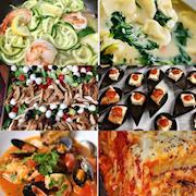 Zucchini noodles, eggplant ,chicken parm