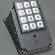 Shown with optional keypad in console mounted config.