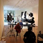 Interview with sculpture, Mel Kendrick at the Orlando Museum of Art