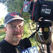 Working for CBS from my old home town of Chicago