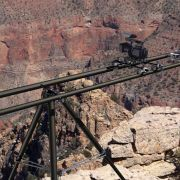 Carbon fiber dolly track at Grand Canyon