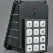 Shown with optional keypad in wall mounted config.