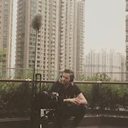 Recording cicadas in Shanghai, China