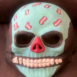 Latex Mask Painted