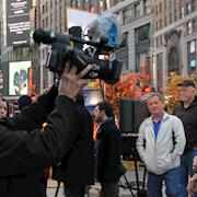 Shoot with Rick Springfield, Times Square