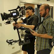 Corporate video shoot with Sony F3 in west side Chicago hospital.