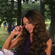 Makeup & Hair for Holly Sonders with Fox Sports