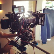RED EPIC on a Dana dolly