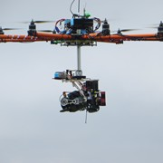 Custom Made Octocopter and Brushless Direct Drive Multi Rotor filming in the Mountains of NC