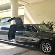 Picture car SUV limo w/  jet door