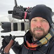 Charleston cameraman - Dave Baker