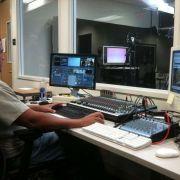 Angel J. Ortiz operating Newtek Tricaster System with Skype integration