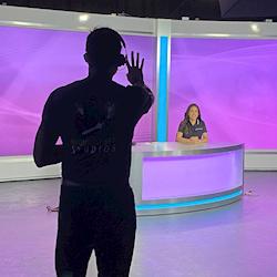 Studio A - Broadcast Set (Purple)