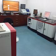 Testing room.