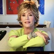 Rhonda styled Jane Fonda for her book: My Life So Far DVD