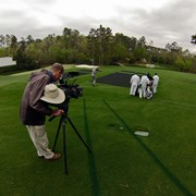 At Augusta National for Masters.com