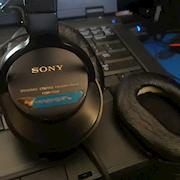 Just a pic of my original Sony cans I bought for my first broadcast gig in 2000.  They still sound great.  I have 3 pair just in case.