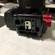 Used Zacuto Z-finder and Quick Release Plate for DSLR and Mirrorless Cameras