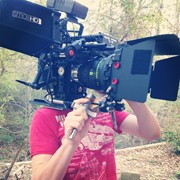 RED EPIC with Master Primes and self made handheld rig