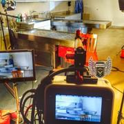BMDC 4K - set up for a shoot on cryogenics