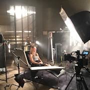 Warner Bros. Pictures' Suicide Squad Ad Featuring Margot Robbie