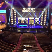 In Chicago to shoot the open for NFL Network's NFL Draft show