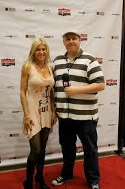 """Jennifer Barbaro being interviewed on Red Carpet for winning best director for Haley music video """"Burning Witches"""""""
