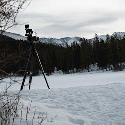 We love the mountains and capturing them on film.