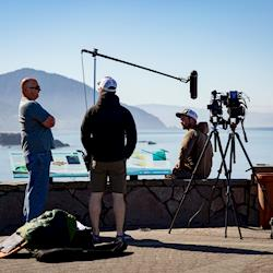 Port Orford, Or. Interviews at the end of a long journey.