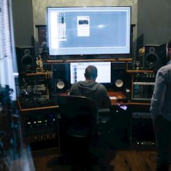 Our studio in Newport, Ky.