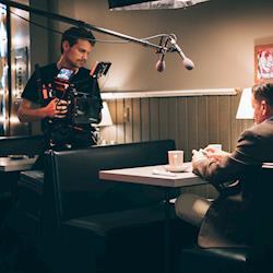 Ben Nelson making movies.