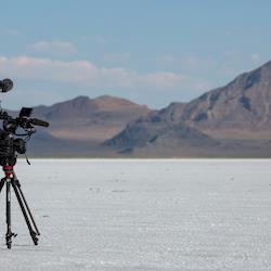 Documentary filming in Salt Flats