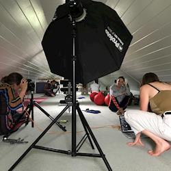 BTS / Tata Harper for The Select 7 / Erica Allen photographer