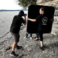 a day at the lake shooting w/ photographer Corey Hendrickson