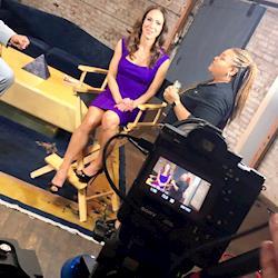 Host Ereka Vetrini from Access Health, Lifetime tv