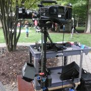 Steadicam setup for Perfectly Prudence