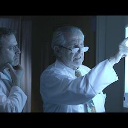 """Still from short film, """"System on a Chip."""""""