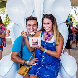 Spoon Throne Sculpture, Austin Ice Cream Festival 2018