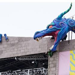 Dragon Sculpture, Sound on Sound Festival 2016