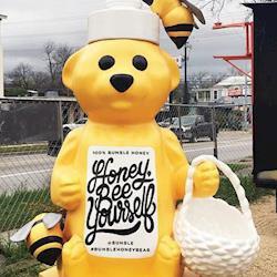 Bumble Bear Sculpture, Bumble 2016