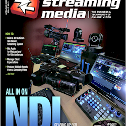 Video production with no video cables. We just published the difinitive article introducing others to NDI so that everyone else can catch up.
