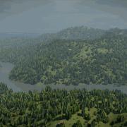 Blender Render | Aerial Flyover
